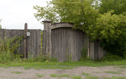 Wooden gate Royalty Free Stock Photos