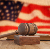 Wooden gavel Royalty Free Stock Photography