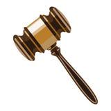 Wooden gavel Royalty Free Stock Photo