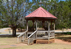 Wooden Gazebo Royalty Free Stock Photos