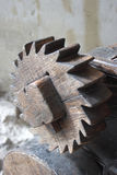 Wooden gear Royalty Free Stock Photo