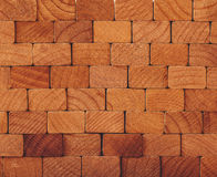 Wooden geometric surface Royalty Free Stock Photography