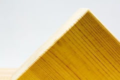 Wooden geometrical pieces Royalty Free Stock Image