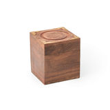 Wooden gift box Stock Image