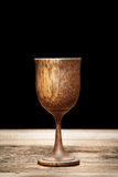 Wooden glass Royalty Free Stock Image