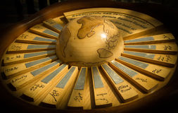 Wooden Globe Stock Photos