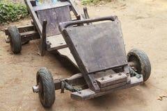 Wooden go cart Stock Photos