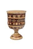 Wooden goblet Stock Photo