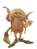 Wooden Goblin Royalty Free Stock Photos