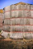Wooden Grain Storage Bins Royalty Free Stock Image
