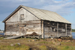 Wooden granary Royalty Free Stock Image