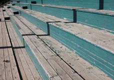 Wooden Grand Stand Stock Photo