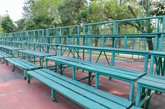 Wooden grandstand Royalty Free Stock Photos