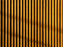 Wooden grating fence with light and shadow Stock Photos