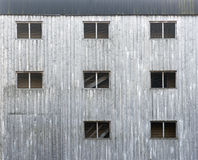 Wooden gray facade Royalty Free Stock Photography