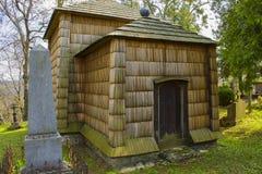 Wooden Greek Catholic church Stock Photo