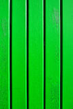 Wooden green planks. Planks of wood painted green as a background Royalty Free Stock Photo