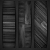 Wooden grey banner. Royalty Free Stock Images