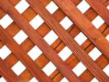 Wooden Grid. Ornament Stock Photo