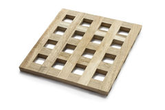 Wooden grid Stock Photo