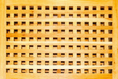 Wooden grille Stock Images