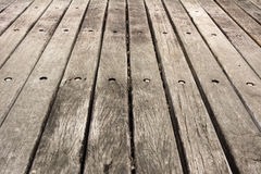 Wooden ground texture Royalty Free Stock Photos