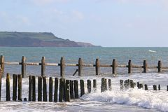 Dawlish Warren Beach, Devon Royalty Free Stock Images
