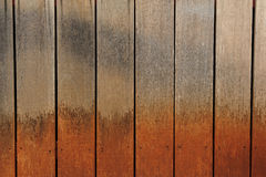 Wooden grunge paint texture. Abstract ash background brown build carpentry cellulose close close-up stock image