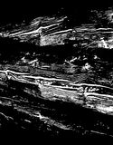 Wooden grungy lines texture background in black and white Royalty Free Stock Image