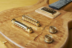 Wooden guitar Royalty Free Stock Images