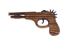 Wooden gun. Stock Photography