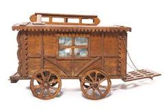 Wooden gypsy horse cart ornament Stock Photo