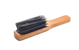 Wooden Hair Brush Royalty Free Stock Photography