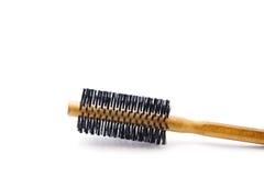 Wooden Hairbrush Royalty Free Stock Image