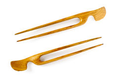 Wooden Hairpins Royalty Free Stock Image