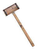 Wooden hammer Stock Image