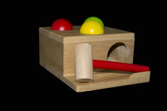 Wooden Hammering Toy Royalty Free Stock Images
