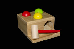 Wooden Hammering Toy Stock Photography
