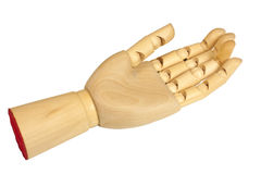 Wooden hand Stock Photos
