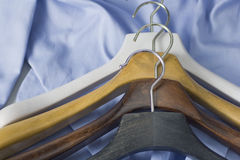 Wooden hanger 10 Royalty Free Stock Images