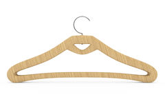 Wooden hanger Royalty Free Stock Photos