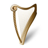 Wooden harp Stock Photos