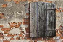 Wooden hatch Stock Photography