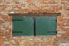 Wooden hatch Stock Images