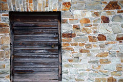 Wooden hatch Royalty Free Stock Photography