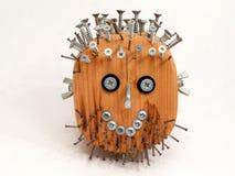 Wooden head Stock Photo