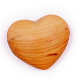 A Wooden heart Royalty Free Stock Image
