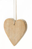 Wooden heart Royalty Free Stock Photos