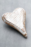 Wooden heart shaped. Greeting Cards. Valentine& x27;s Day greeting. Royalty Free Stock Images