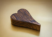 Wooden heart Royalty Free Stock Photo